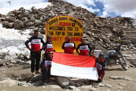 Naik ke Himalaya, Darius Memiliki Misi Sosial untuk Membangun Sekolah Bersama dengan TOP 1